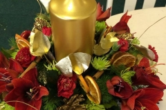 Gold Candle Table Piece 2