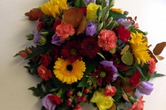 colourful Bouquet from above