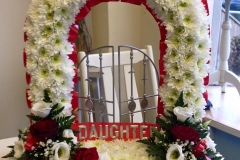 Funeral Gates Daughter