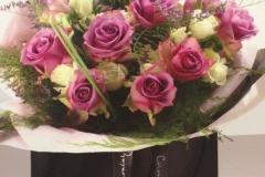 Roses in Black Box