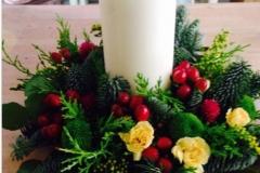 Wreath-Candle