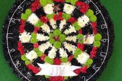 Wreath-Dartboard
