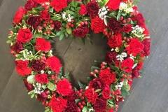 Wreath-Heart
